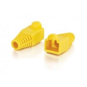 کاور سوکت شبکه زرد - بسته 10 تایی