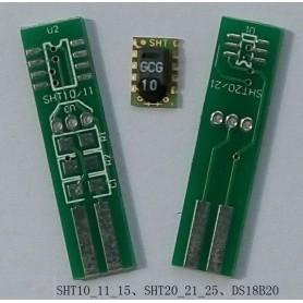 برد سنسورهای SHT و DS18B20