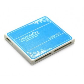 ریدر انواع کارت حافظه جیبی Mini All in One Memory Card Reader
