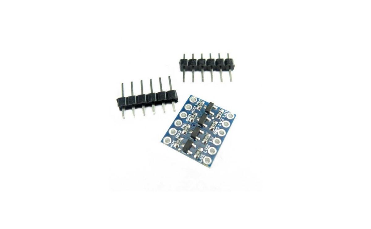مبدل منطقی 5 به 3.3 ولت لاجیک کانورتر - Logic Level Converter 5V to 3.3V