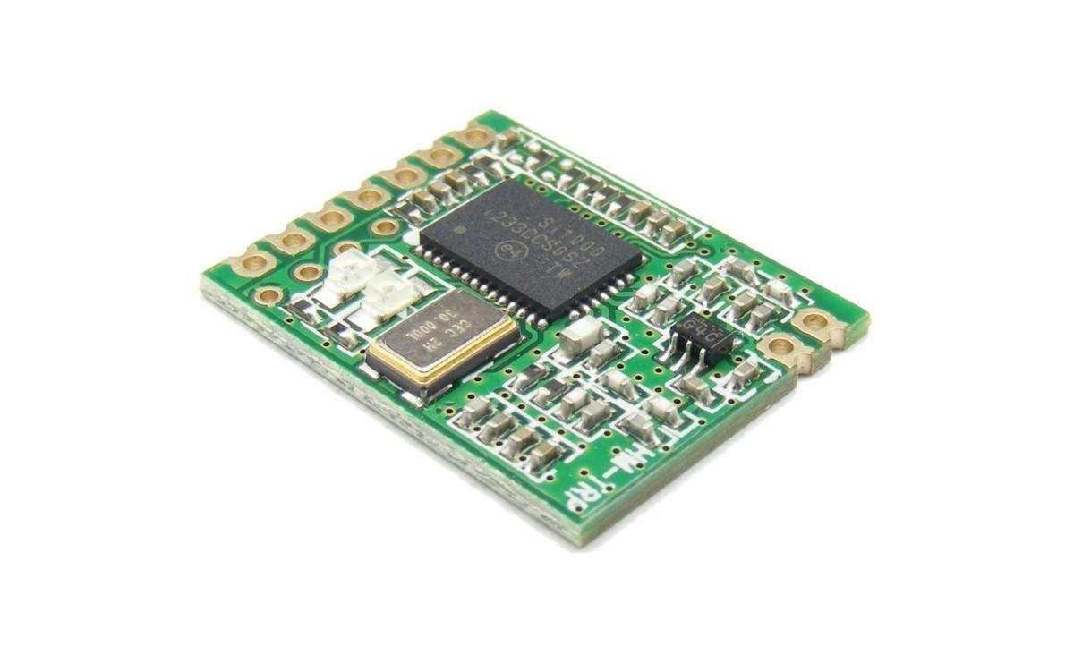 ماژول فرستنده و گیرنده بی سیم 433 مگاهرتز HM-TRP