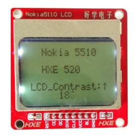 نمایشگر NOKIA 5110 84 X 84 دارای بک لایت