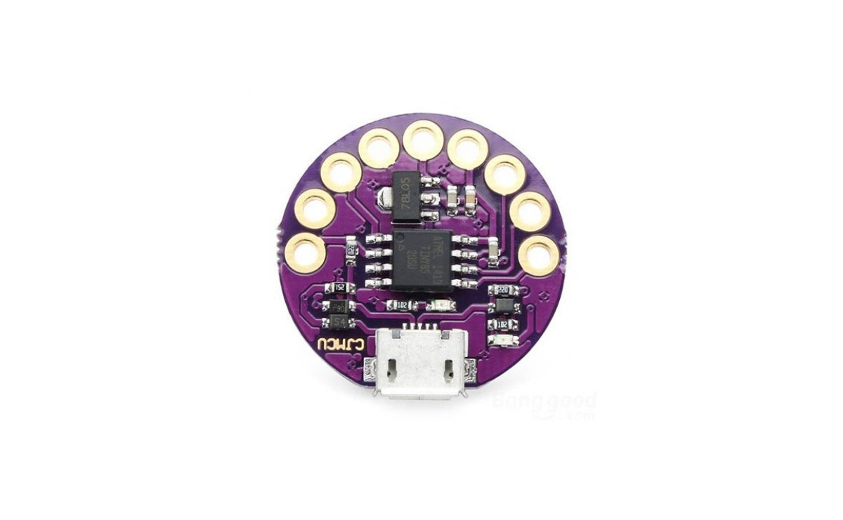 برد توسعه ATTiny85 مدل LilyTiny سازگار با آردوینو