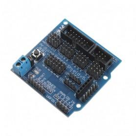 شیلد سنسور آردوینو دارای قابلیت اتصال کنترلر سروو / بلوتوث / SD card / APC220 / آلتراسونیک / I2C / 12864 LCD