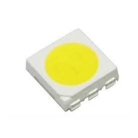 LED سفید مهتابی SMD پکیج 5050 بسته 100 تایی