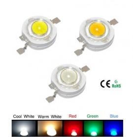 1W LED سفید مهتابی 120- 100 لومن بسته 5 تایی