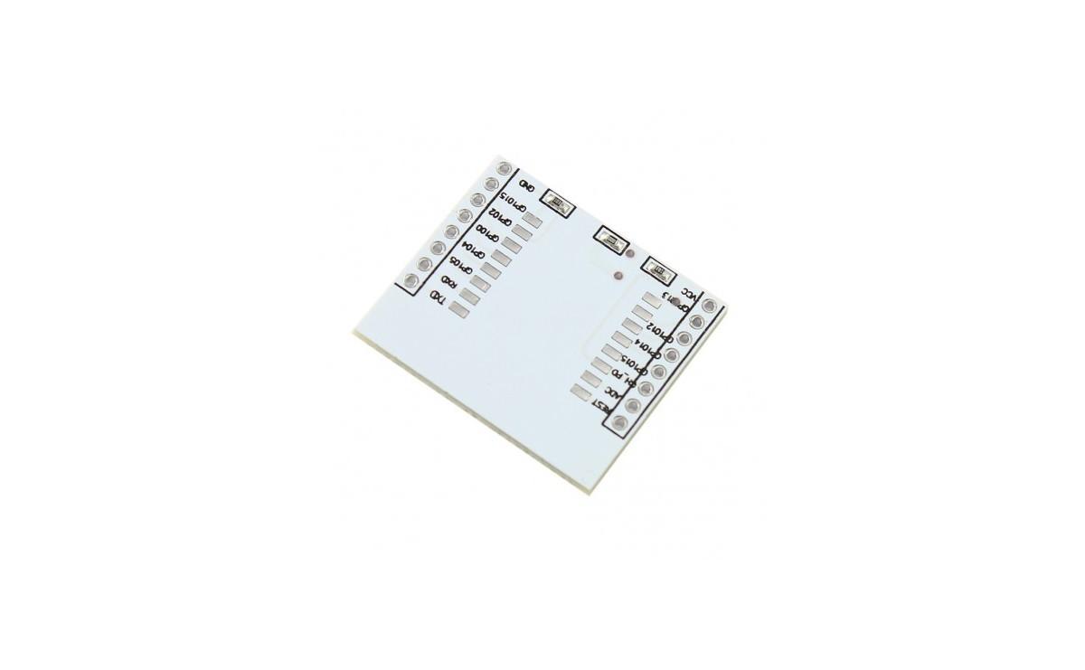برد کمکی چیپ وایفای ESP8266 مناسب برای ماژول های ESP-07 / ESP-08 / ESP-12