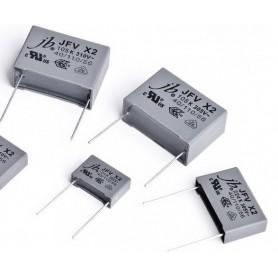 خازن 0.15uF / 250V MKT کلاس X2 بسته 5 تایی