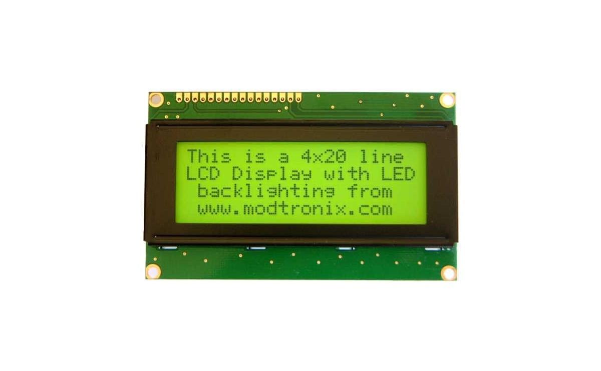 LCD کاراکتری 4x20 بک لایت سبز
