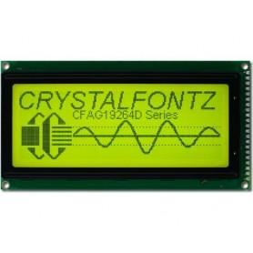 نمایشگر GLCD 64x192 گرافیکی بک لایت سبز با درایور KS108