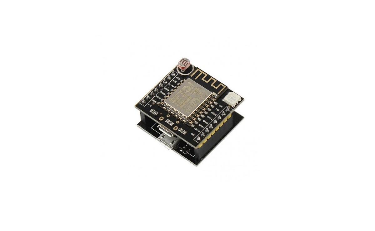 برد توسعه Witty cloud با هسته وایفای ESP8266 دارای دو پورت میکرو USB