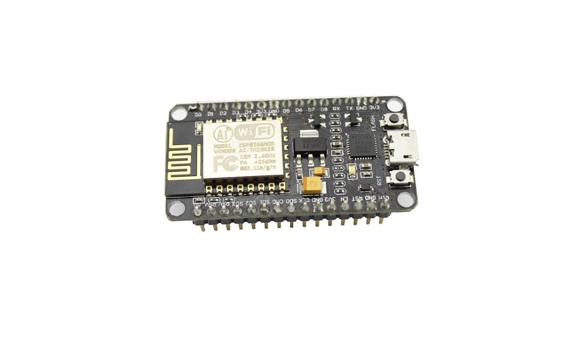 برد توسعه وای فای Node MCU به همراه ماژول ESP8266-12E