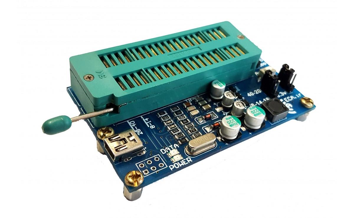 پروگرامر میکروکنترلر های PIC مدل PIC USB PROGRAMMER