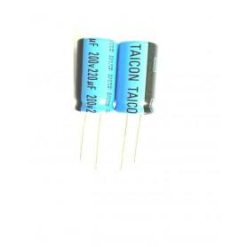 خازن الکترولیتی 220uF / 200V مارک Taicon