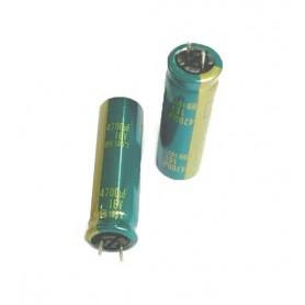 خازن الکترولیتی 4700uF / 16V مارک Panasonic بسته 10 تایی