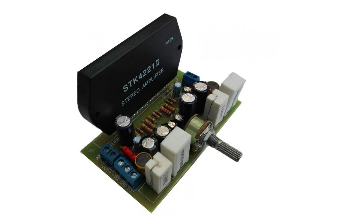 ماژول آمپلی فایر 2x80W با تراشه STK4221