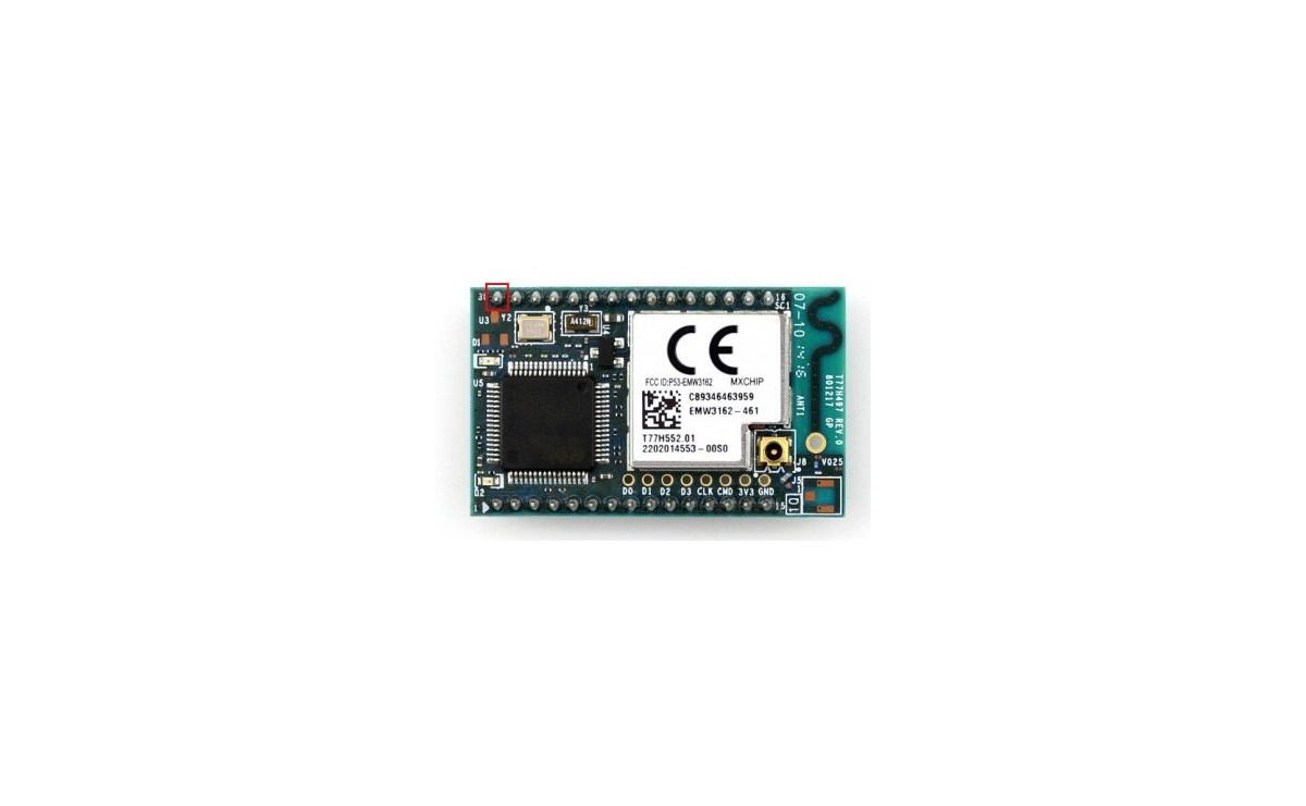 ماژول وای فای EMW3162 دارای پردازنده ARM32F205 و آنتن داخلی