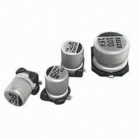 خازن SMD الکترولیت 220uF / 16V سایز 7*6
