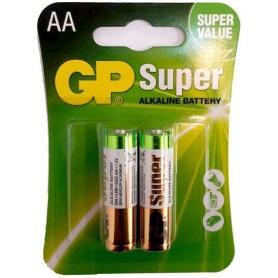 باتری قلمی آلکالاین Super دو تایی مارک GP