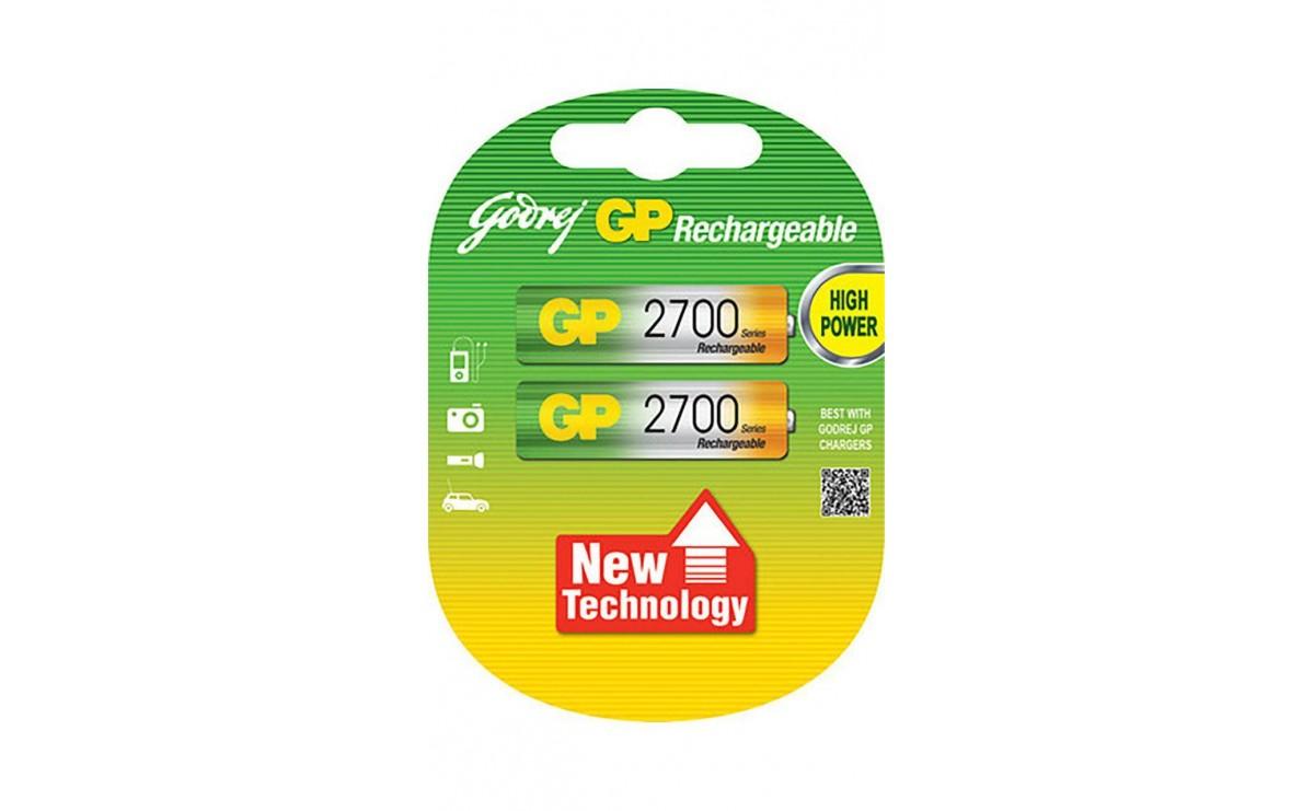 باتری قلمی AA قابل شارژ 2600mAh مارک GP