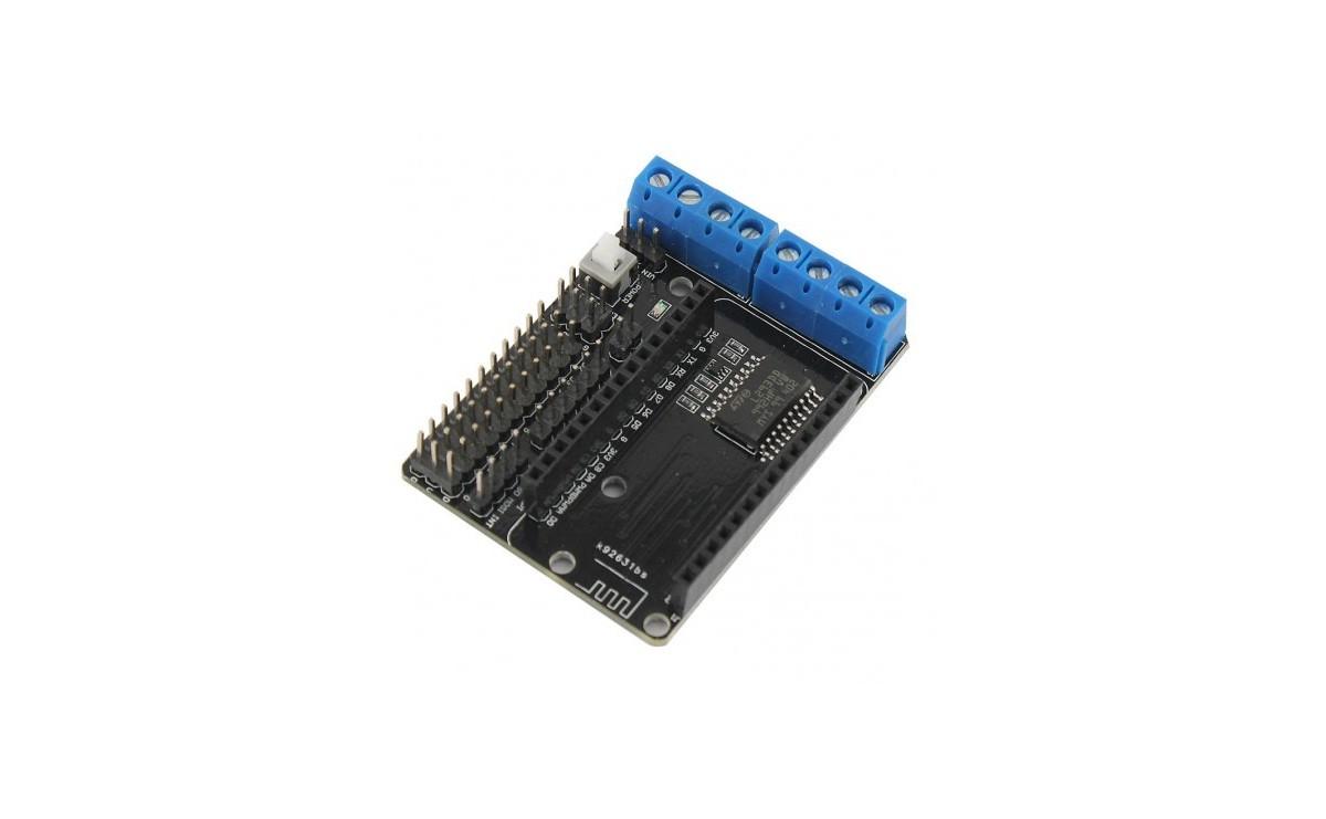 شیلد موتور درایور L293D با قابلیت اتصال برد NodeMCU