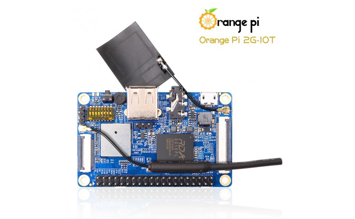 برد چهار هسته ای Orange Pi 2G-IoT