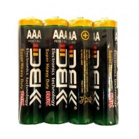 باتری نیم قلمی Plus چهار تایی مارک DBK
