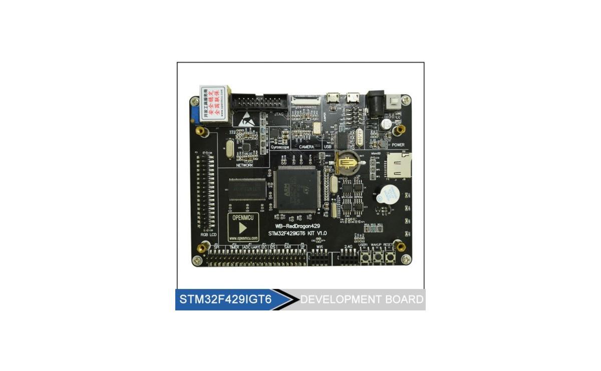 برد توسعه حرفه ای STM32F429IGT6