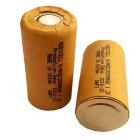 باتری جارو شارژی 1.2 ولت 3000mAh مارک Moricell