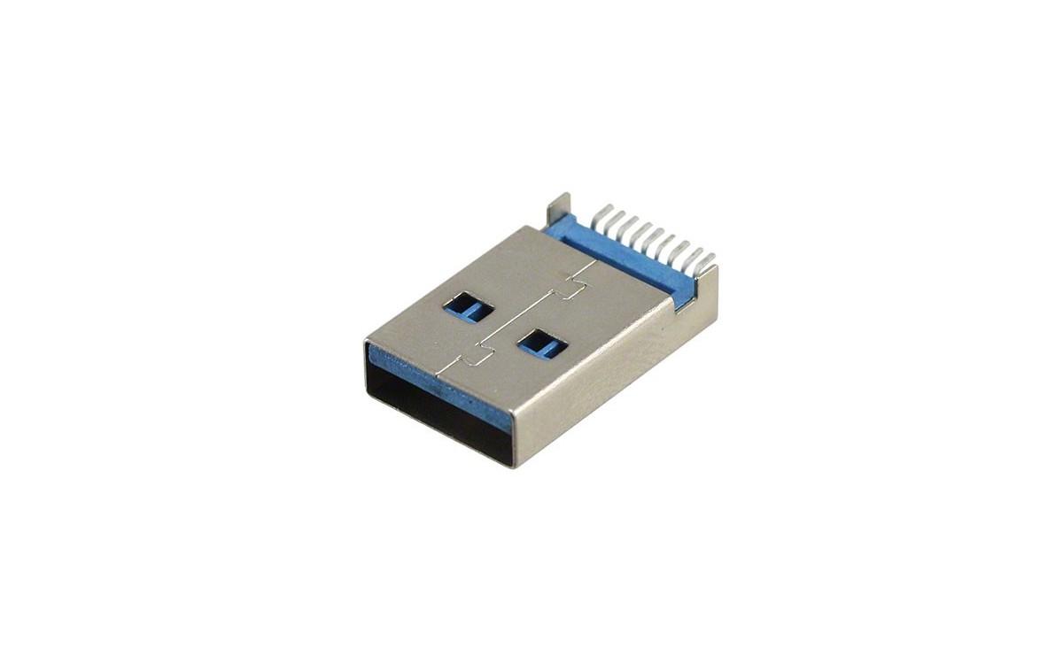 کانکتور پرسرعت USB3.0 A نری SMD