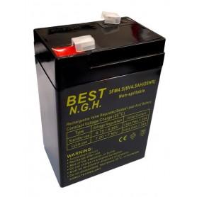 باتری خشک 6 ولت 4.5 آمپر ساعت مارک Best