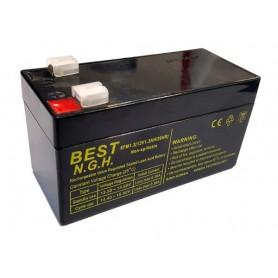 باتری خشک 12 ولت 1.3 آمپر ساعت مارک Best