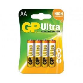 باتری قلمی آلکالاین Ultra چهار تایی مارک GP