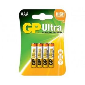 باتری نیم قلمی آلکالاین Ultra دو تایی مارک GP