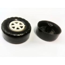چرخ اسباب بازی پلاستیکی