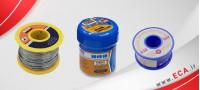 سیم لحیم، خمیر و ساچمه قلع